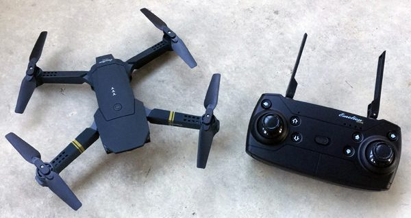 Eachine E58 con controlador remoto