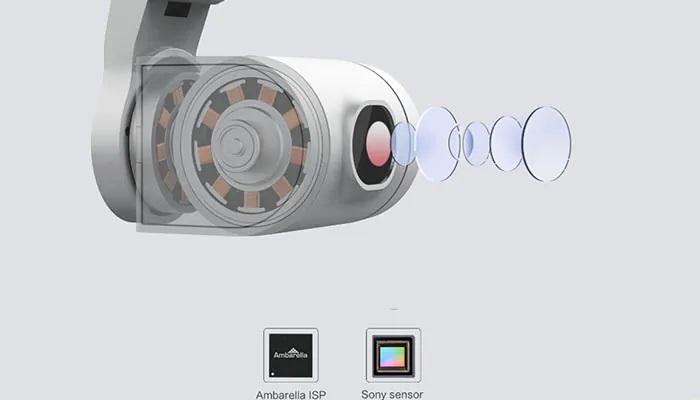 Xiaomi Fimi A3 cámara
