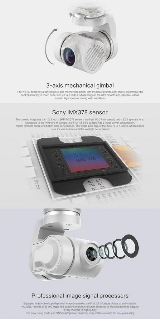 Xiaomi Fimi X8 Cámara