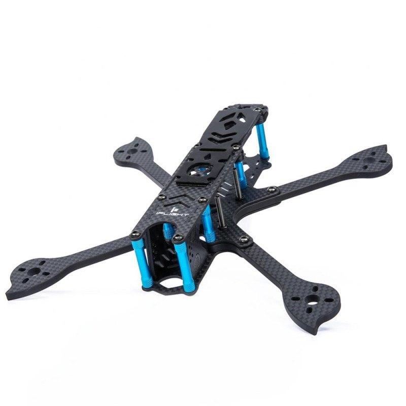 Cuadro de un dron de carreras