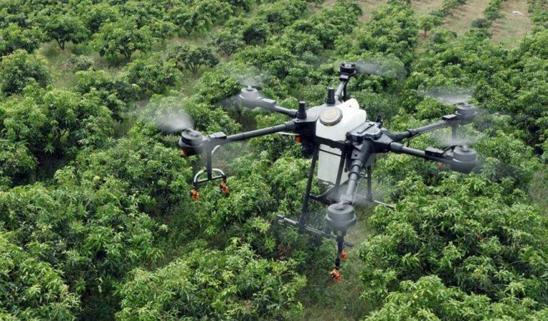 La Uvigo desarrolla un método de desinfección con drones
