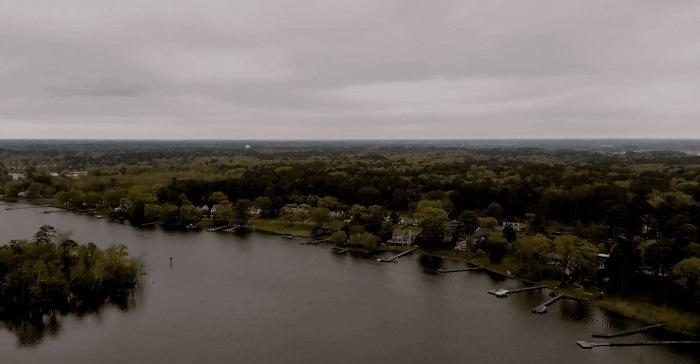 Fotografía aerea hecha por un Autel Evo 2 4K