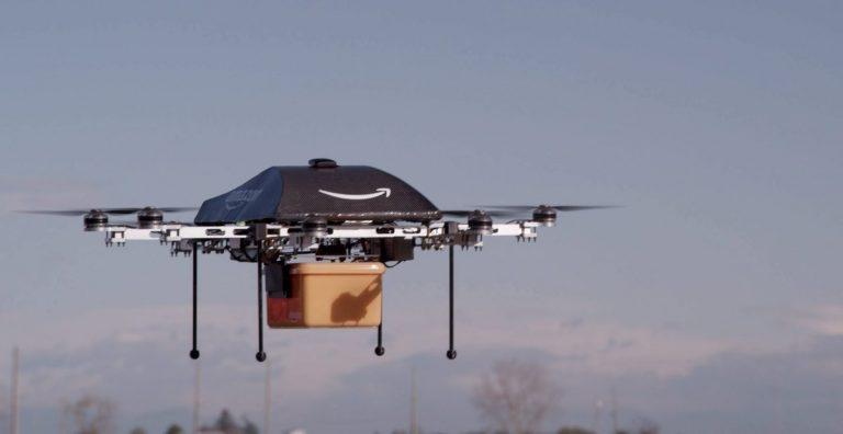 EEUU autoriza a Amazon a usar drones para entregar productos